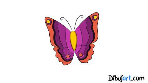 Cómo dibujar una Mariposa paso a paso | dibujart.com