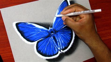 Como Dibujar Una Mariposa   YouTube