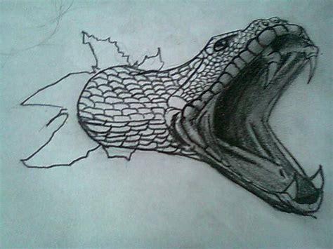 como dibujar una serpiente en 3d   Taringa!