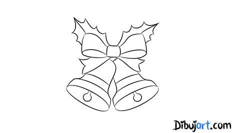 Cómo dibujar unas Campanas de Navidad paso a paso ...