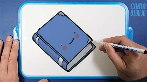 Como Dibujar y Colorear un Libro Kawaii | How to Draw a ...