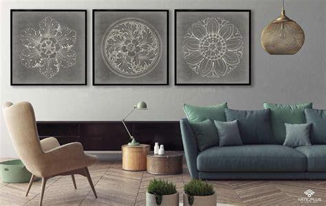 Cómo elegir el cuadro ideal de acuerdo al tamaño del sofá ...