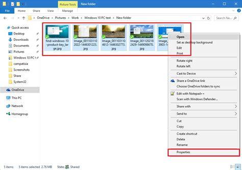 Cómo eliminar información en imágenes desde Windows 10