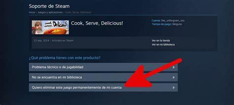 Cómo eliminar juego de la cuenta de Steam (para siempre ...