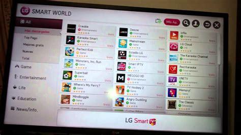 como eliminar juegos y programas descargados en tv smar tv ...