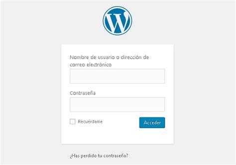 ¿Cómo entrar a mi blog ya creado en Wordpress? - Blog de ...