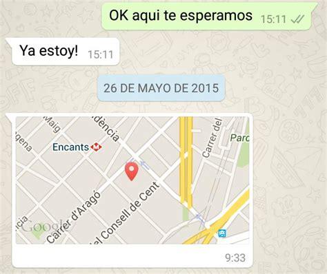 Cómo enviar una ubicación por Whatsapp   6 pasos   unComo
