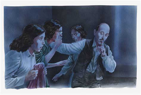 Como era o esconderijo de Anne Frank para fugir de Hitler ...