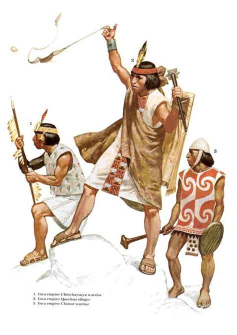 ¿Cómo eran los guerreros Incas?