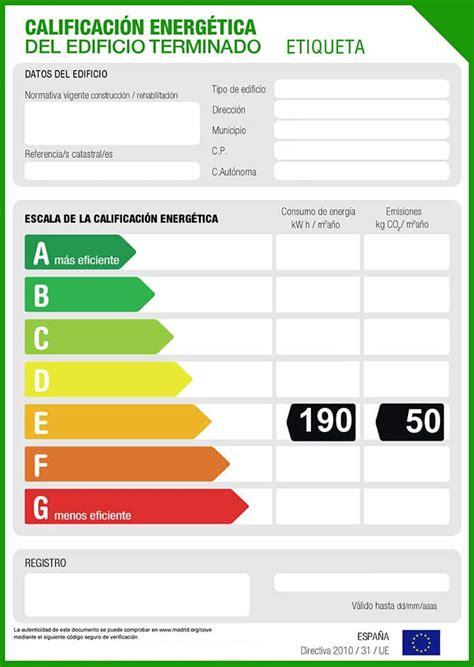¿Cómo es la nueva etiqueta energética de viviendas? - RT ...