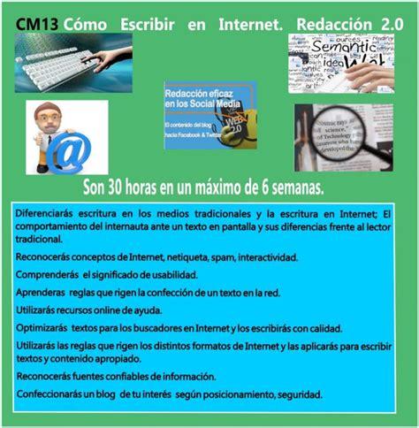 Cómo Escribir en Internet. Redacción 2.0   Aforcade