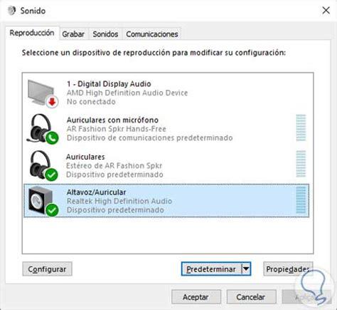 Cómo escuchar altavoces y cascos a la vez Windows 10 ...