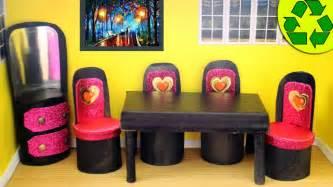 Cómo hacer 6 muebles para tu muñeca con rollitos de papel ...