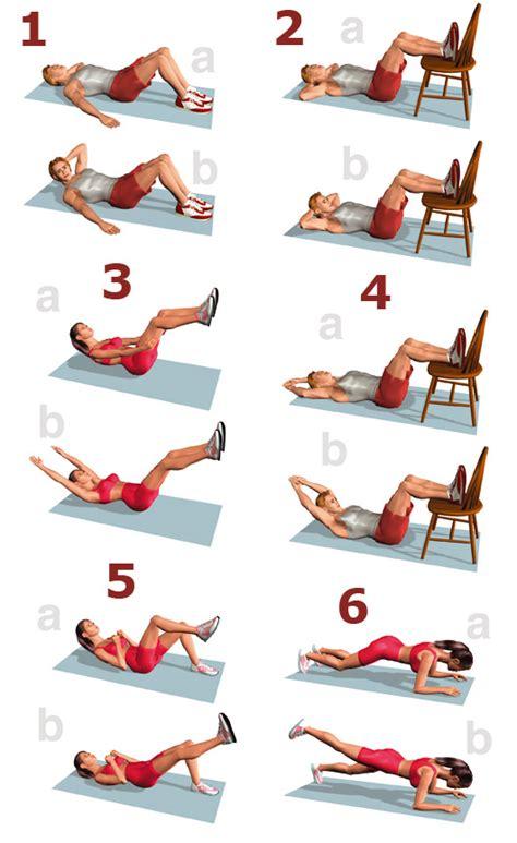 Como hacer abdominales en casa - Buena Salud