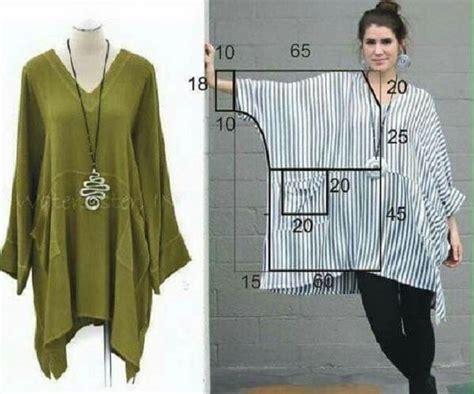 Como hacer Blusa modelo tunica con patrones ...