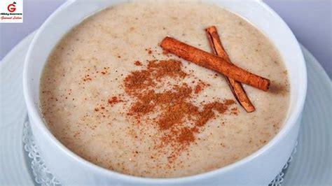 Como hacer crema de avena para el desayuno - YouTube