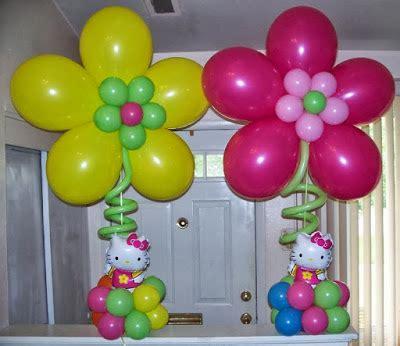 Como hacer Decoraciones con Globos para una Fiesta de Niña ...