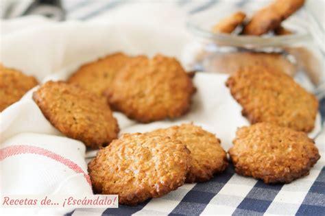 Cómo hacer galletas de avena caseras, crujientes y muy ...