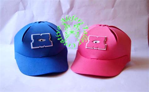 como hacer gorras de fomi alefers taller creativo junio 2014