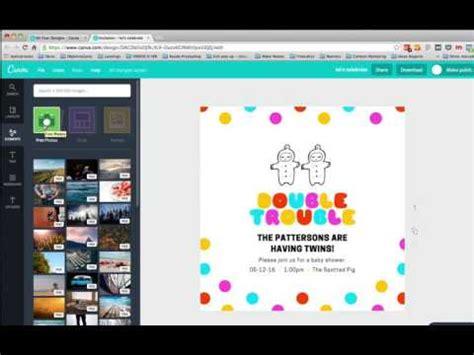 Cómo hacer invitaciones de cumpleaños online gratis   YouTube