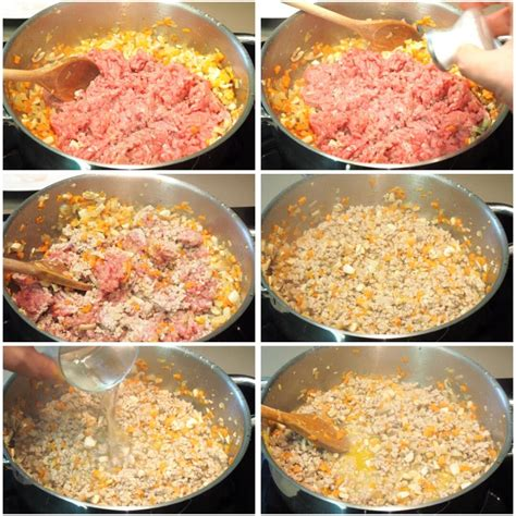 Cómo hacer lasaña de carne picada con bechamel para 6 ...