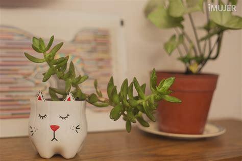 Cómo hacer macetas con forma de gatitos para tus plantas ...