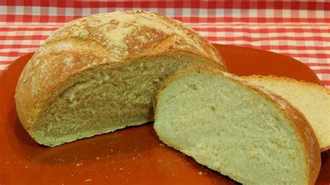 Cómo hacer pan blanco fácil sin masa madre - YouTube