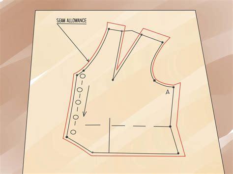 Cómo hacer patrones de costura a medida: 8 pasos