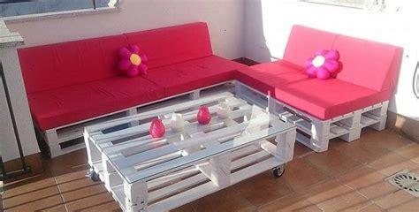 Como hacer sofa de palets para el jardín o terraza
