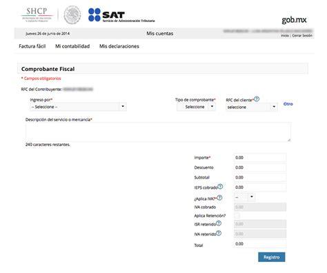¿Cómo hacer tu factura electrónica gratis?   Vectores