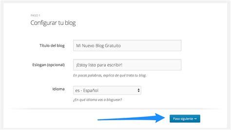 Cómo Hacer un Blog Gratis   Tutorial Paso a Paso de ...