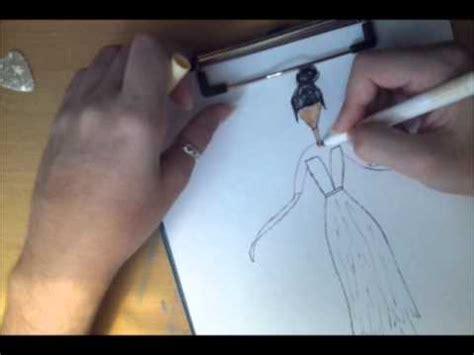 Como hacer un boceto de moda. Parte 2: imaginación   YouTube