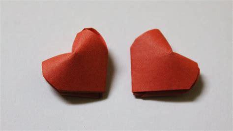 Como hacer un corazon de papel en 3D   YouTube