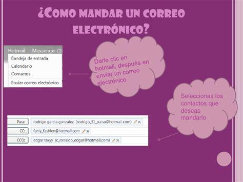 ¿Como hacer un correo electronico?
