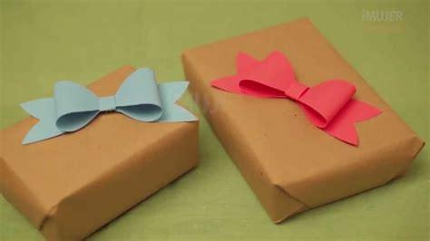 Cómo hacer un moño fácil | Moños para regalos ...