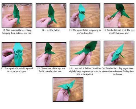 Como hacer un origami de flor   Imagui