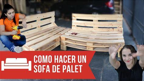 COMO HACER UN SOFA CON PALETS PASO A PASO - | Empo | EP ...