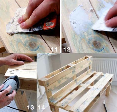 Cómo hacer un sofá con palets paso a paso
