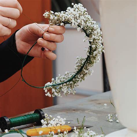 Cómo hacer una corona de flores | Blog Bourguignon