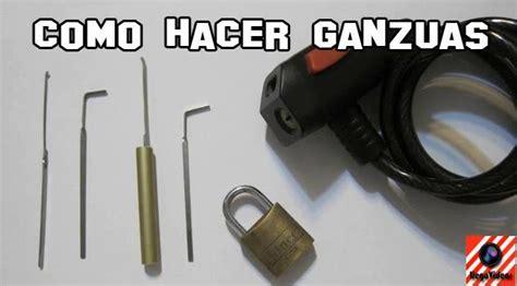 Como hacer una ganzua para abrir cerraduras   Taringa!