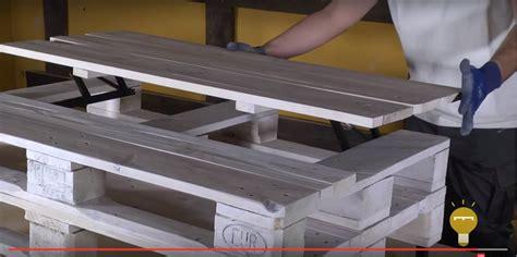 Cómo hacer una mesa de centro elevable con palets | Re ...