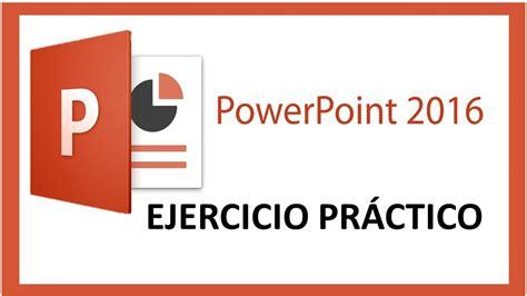 ¿COMO HACER UNA PRESENTACIÓN EN Microsoft PowerPoint 2016 ...