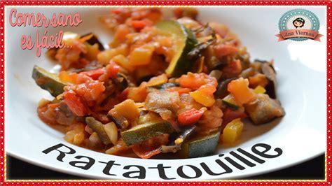 Como hacer una Ratatouille | Receta fácil y rápida ...