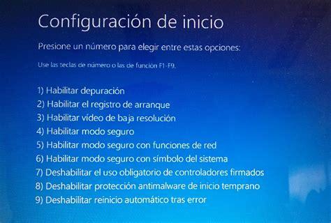 Cómo iniciar o arrancar Windows 10 en Modo Seguro