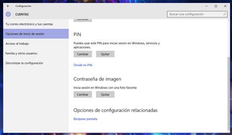 Cómo iniciar sesión con una imagen en Windows 10 ...