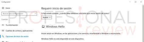 Cómo iniciar sesión en Windows 10 sin ingresar contraseña