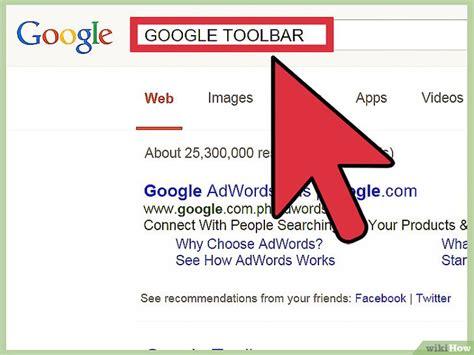 Cómo instalar la barra de Google: 5 pasos  con fotos