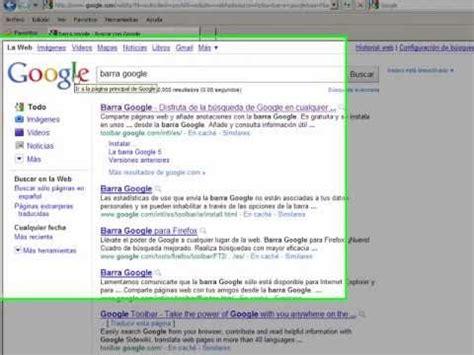 Como Instalar la Barra Google   Doovi