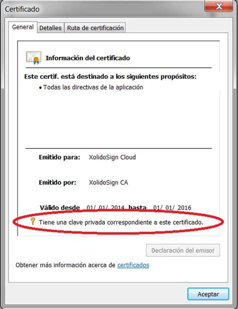 ¿Cómo instalar un certificado en el almacén de ...