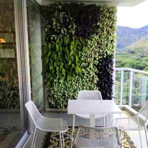Cómo instalar un jardín vertical pequeño en la terraza ...